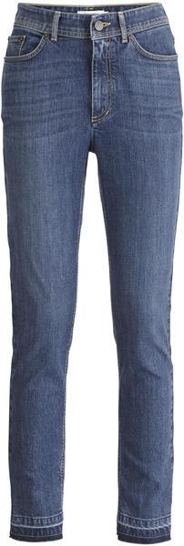 hessnatur Jeans Slim Fit Mid Waist aus Bio-Denim blau (4871903)