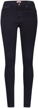 Only Paola HW Skinny Fit Jeans black denim