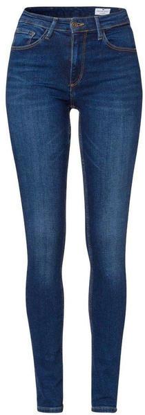 Cross Jeanswear Natalia High Waist Super Skinny Jeans (100) dark blue