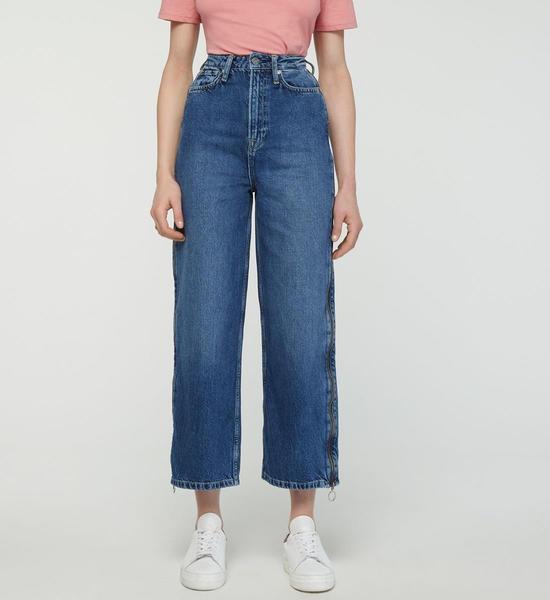 Pepe Jeans Mara Zip Straight Jeans (PL203737) denim