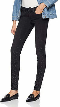 Pepe Jeans Pixie Skinny Jeans (PL203141) /oz black used stars