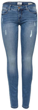 Only Coral Super Low Skinny Fit Jeans (15129017) medium blue denim
