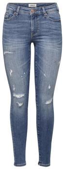 Only Carmen Life Reg Skinny Fit Jeans medium blue denim