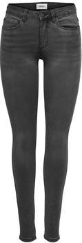 Only Royal Reg Skinny Fit Jeans dark grey denim