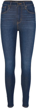 Levi's Mile High Super Skinny Jeans on the rise
