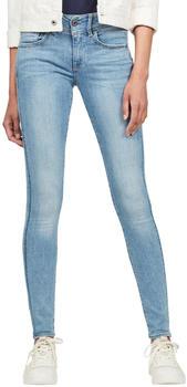 G-Star Lynn Mid Super Skinny Jeans sun faded blue