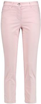 Gerry Weber Verkürzte Jeans mit Saumbordüre rosa/rosé (1-320023-31498-30847)