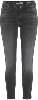 Mavi Adriana Ankle Super Skinny jeans dark grey distressed (10729-25991)