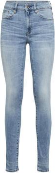 G-Star 3301 High Waist Skinny Jeans indigo aged