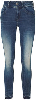 G-Star Lynn Mid Skinny Ripped Edge Ankle antic faded baum blue
