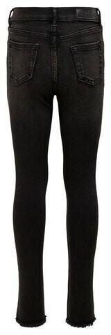 Only Konblush Skinny Raw Jeans 1099 Noos (15185446) black denim
