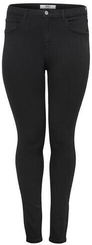 Only Carstorm Push Up Hw Sk Jeans Noos (15174946) black