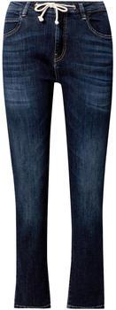 Opus Louis Straight Jeans dark blue used