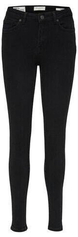 Selected Slftia Mw Skinny Black Jeans U Curve (16079935) black denim