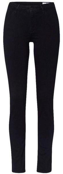 Cross Jeanswear Alan High Waist Skinny Fit Jeans (106) black