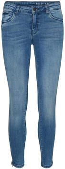 Noisy May Kimmy Cropped NW Skinny Fit Jeans light blue