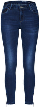 Noisy May Kimmy Cropped NW Skinny Fit Jeans dark blue denim