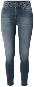 Only Blush Life Mid Ankle Skinny Fit Jeans special blue grey denim