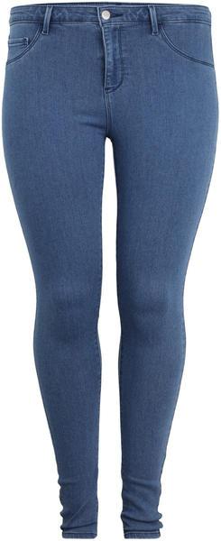 Only Carmakoma Carthunder Push Reg Skinny Fit (151749) medium blue