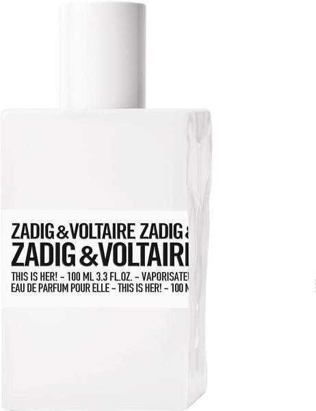 Zadig & Voltaire This is Her Eau de Parfum (100ml)