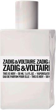 Zadig & Voltaire This is Her Eau de Parfum (50ml)