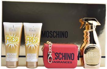 Moschino Fresh Couture Gold Set (EdP 50 ml + SG 100ml + BL 100 ml + Acc.)
