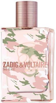 Zadig & Voltaire This is Her! No Rules Capsule Collection Eau de Parfum (50ml)