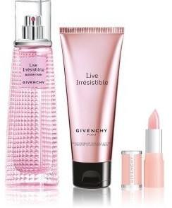 Givenchy Live Irrésistible Blossom Crush Set (EdT 50ml + LB 1,5g + BL 75ml)