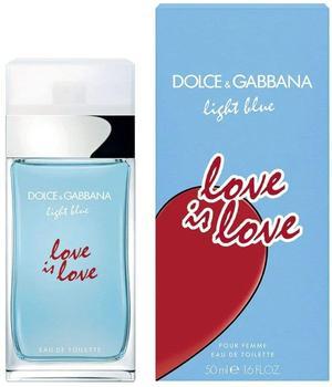 Dolce & Gabbana Light Blue Love is Love Pour Femme Eau de Toilette (50ml)