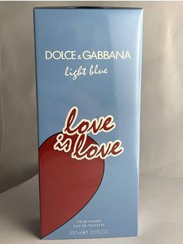 Dolce & Gabbana Light Blue Love is Love Pour Femme Eau de Toilette (100ml)