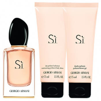 Giorgio Armani Sì Set (EdP 50ml + BL 75ml + SG 75ml)