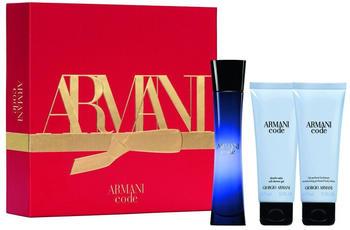 Giorgio Armani Code Femme Set 2020 (EdP 50ml + SG 75ml + BL 75ml)