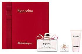 Salvatore Ferragamo Signorina Set (EdP 50ml + EdP 5ml + BL 50ml)