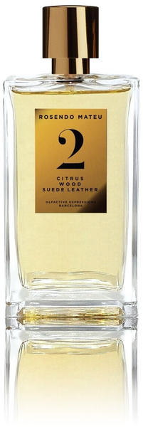 Rosendo Mateu Nº 2 Citrus, Wood, Suede Leather Eau de Parfum (100 ml)