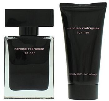 Narciso Rodriguez For Her Eau de Toilette 30 ml + Body Lotion 50 ml Geschenkset