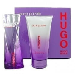 HUGO BOSS Pure Purple Geschenk-Set 30ml EDP + 50ml Körperlotion