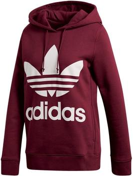 Adidas Originals Trefoil Hoodie Damen medium grey heather (CY6665)