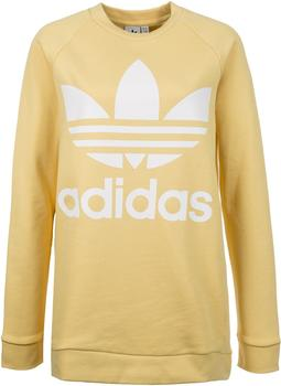 adidas-trefoil-oversize-sweatshirt-sand-cy4758