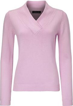 Patrizia Dini V-Pullover rosa (1008954)