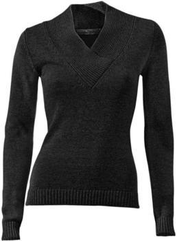 Patrizia Dini V-Pullover schwarz (1008954)
