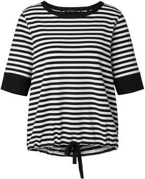 Marc O'Polo Sweatshirt mit Ringeln weiß/schwarz (806301154241)