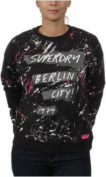Superdry Splatter Punk Pullover mit Rundhalsausschnitt
