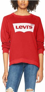 Levi's Relaxed Graphic Crewneck Sweatshirt red (29717-0019)