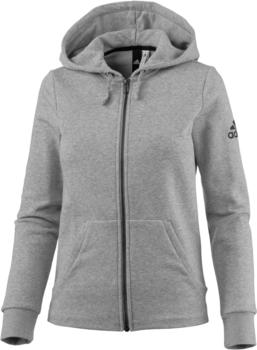 Adidas Solid Kapuzenjacke medium grey heather (S97086)