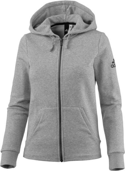 Adidas Solid Kapuzenjacke medium grey heather (S97086)