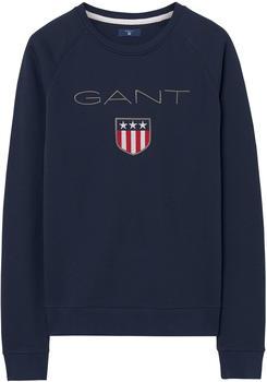 GANT Logo Pullover evening blue (4204612-433)