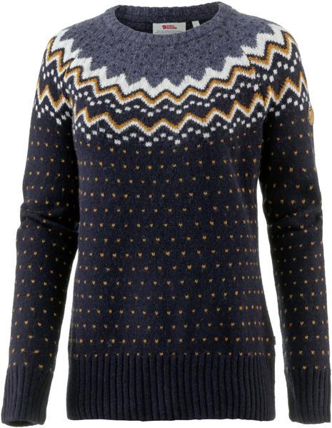 Fjällräven Övik Knit Sweater W dark navy