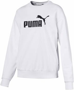 Puma ESS Logo Crew TR white (851794-02)
