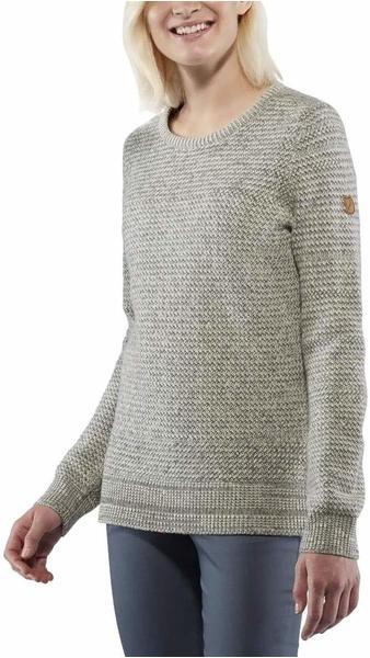 Fjällräven Övik Structure Sweater W egg shell grey