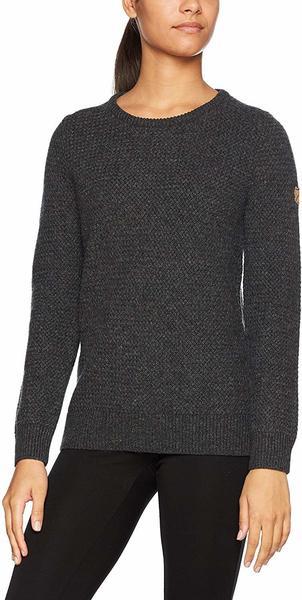 Fjällräven Övik Structure Sweater W dark grey